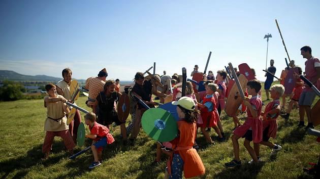 Návštěvnické středisko Brána do Ŕímské říše zve k Mušovu do míst, kde tábořily a bojovaly římské legie.