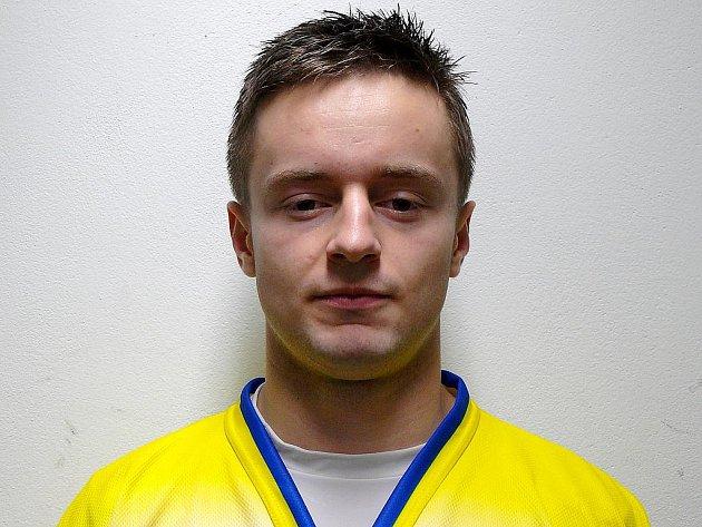 Útočník Tomáš Popolanský patří mezi pravidelně bodující břeclavské hokejisty.