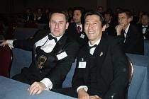 Jedním ze soupeřů Libora Nazarčuka v Řecku byl i sommelier z Japonska.