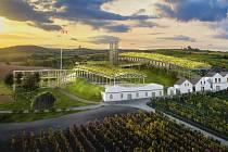 Titul Dřevěné stavby roku 2020 získalo v kategorii Dřevěné konstrukce – návrhy Vinařství Dolní Dunajovice z pera architektonického studia Huť architektury Martin Rajniš.