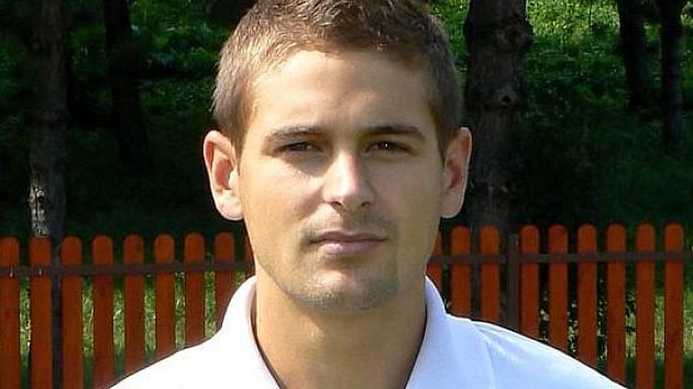 Ondřej Crla, levý krajní obránce třetiligového celku fotbalistů MSK Břeclav.