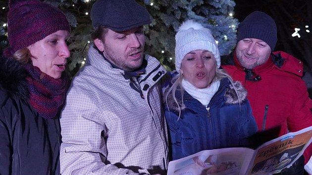 Česko zpívá koledy 2019 na Břeclavsku
