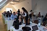 Hodnocení letošního ročníku mezinárodní soutěže Festwine v Ekocentru Trkmanka ve Velkých Pavlovicích.