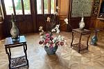 Studenti zahradnické fakulty zdobí zámecké sály kvěinami