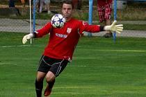Břeclavský brankář Lukáš Prokop je fotbalistou okresu Břeclav za rok 2012.