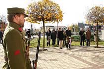 Břeclavští uctili válečné veterány.