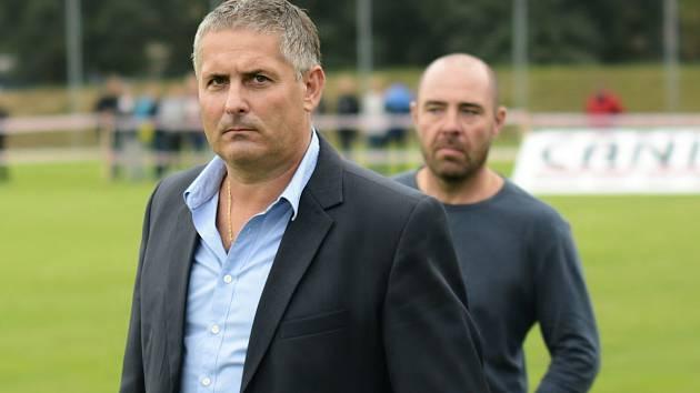 Milan Valachovič, nový trenér fotbalistů Sokola Lanžhot.