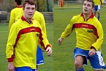 Kamil (vlevo) a Antonín Koryčánkovi.