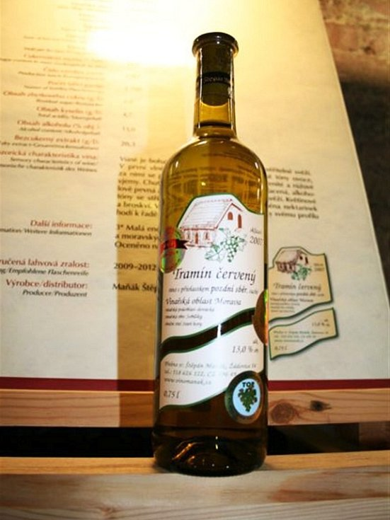 Oceněná vína v Salonu vín 2009.