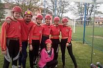 Mladí hasiči z Poštorné excelovali v nově vzniklé Břeclavské hasičské lize.