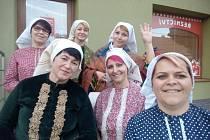 Výzvu Den v kroju přijaly i členky Ženského sboru z Moravské Nové Vsi. Foto: archiv sboru
