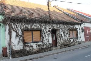 Dům v Dolních Dunajovicích na Břeclavsku, kde se našly ostatky tří novorozenců.