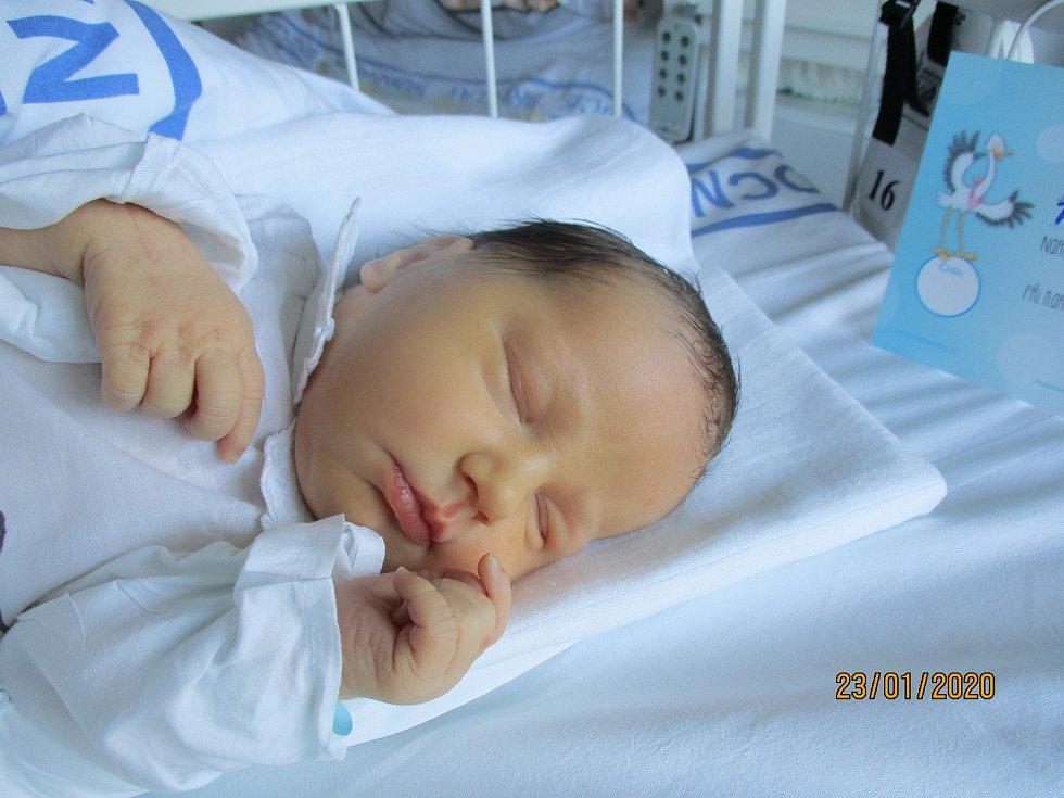 Patrik Veverka, Velké Bílovice, 21. ledna 2020, 7.49, Nemocnice Břeclav, 50 centimetrů, 3620 gramů.