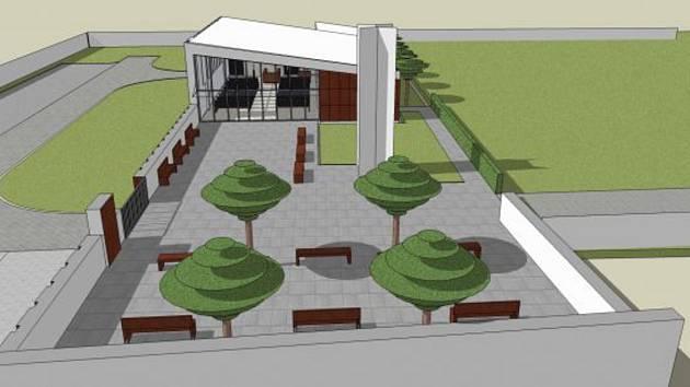 Kostičtí chtějí příští rok opravit nevyhovující smuteční síň z sedmdesátých let i její okolí a hřbitov.
