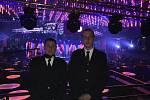 Dvaadvacetičlenná jednotka tvrdonických dobrovolných hasičů se stala vítězem ankety Dobrovolní hasiči roku 2020 v oblasti jednotka sboru dobrovolných hasičů. Cenu převzal velitel jednotky Zdeněk Salajka (vpravo) a jeho zástupce Marek Hunkař.