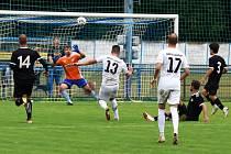 Fotbalisté MSK Břeclav prohráli divizní duel s Lanžhotem 1:2.