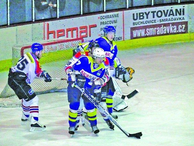 Hokejisté HC Břeclav.