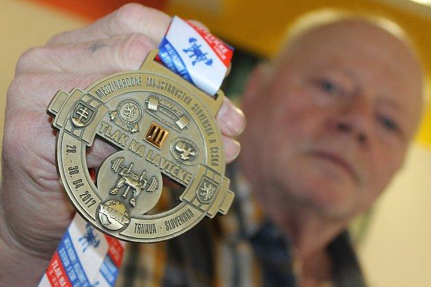 Vladimír Svoboda získal do sbírky další cennou bronzovou medaili.