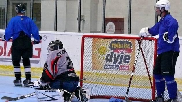 Na břeclavském zimním stadionu se objevili po dvou letech znovu amatérští inline hokejisté.
