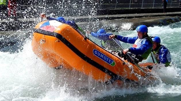 Rafty z Břeclavi mnohokrát posloužily jako závodní čluny na mistrovství Evropy v raftingu na divoké vodě a několikrát figurovaly i na mistrovství světa.