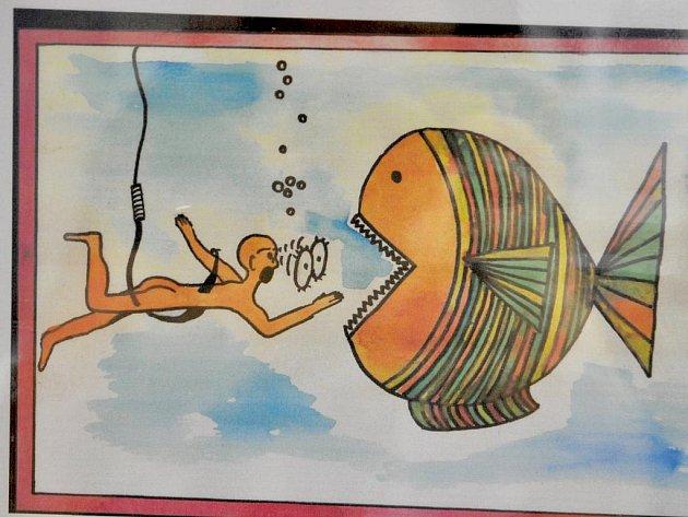 Putovní výstava kresleného vtipu s ekologickou tematikou Ekofór.