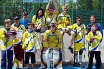 Vítězný tým břeclavských osmáků a deváťáků postoupil do krajského kola.