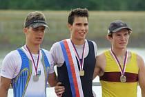 Veslaři SVK vylovili z račického kanálu deset medailí.