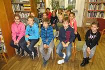 Třeťáci se přišli podívat do velkopavlovické knihovny.
