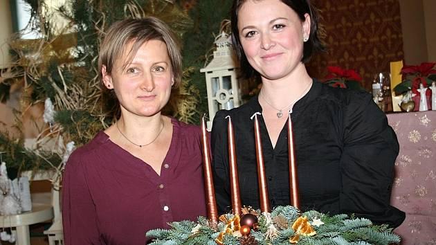 Veronika Gálová–Stříbrná (vpravo).