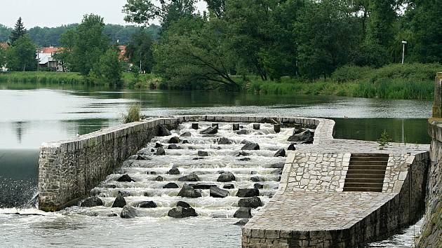 Rybí přechod v Břeclavi.