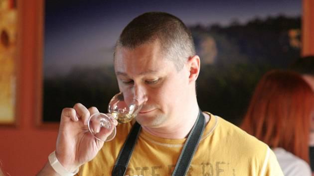 Ochutnávka vín na Pálavě.