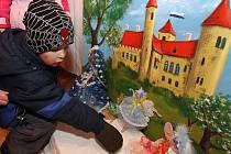Výstava hraček v Mikulově.