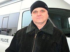 Policista Jan Molčan velel akci, při níž jeho podřízení kontrolovali auta projíždějící přes hraniční přechod na dálnici u Lanžhota.