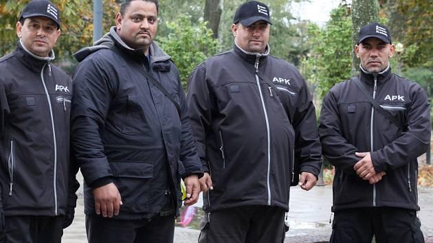 Čtveřice asistentů prevence kriminality v Břeclavi.
