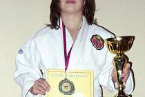 Mladá judistka Anna Třináctá si z Polné odvezla titul mezi nejmladšími bojovníky.