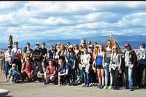 Studenti hustopečského gymnázia v Toskánsku.
