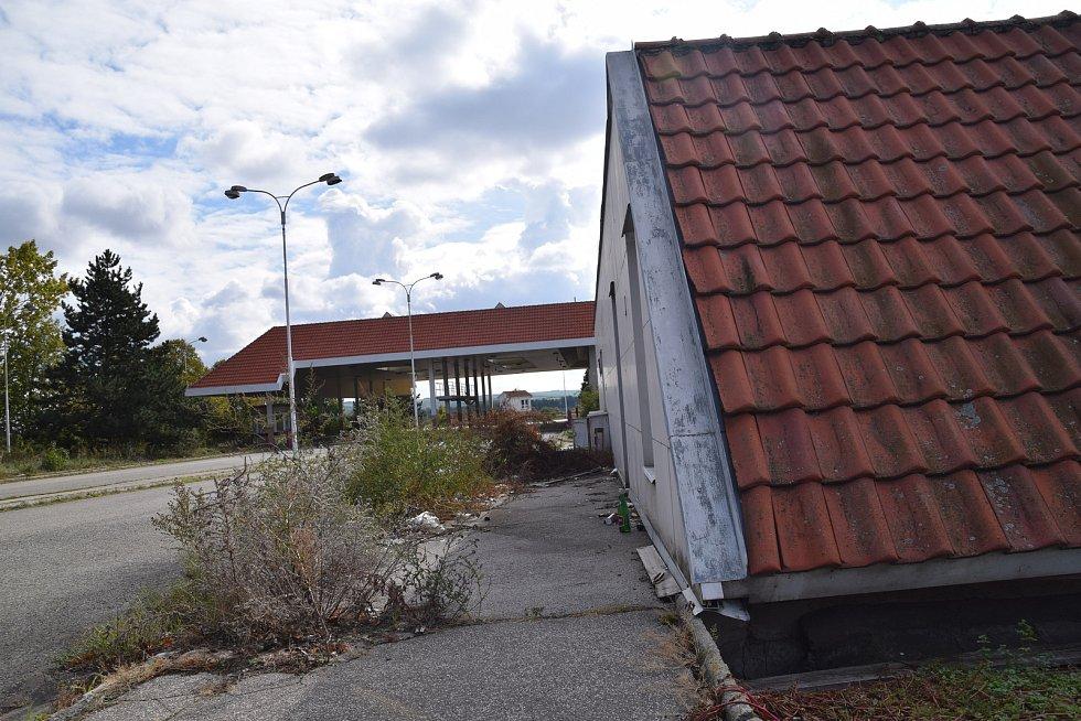 Nynější vzhled hraničního přechodu Mikulov - Drasenhofen.