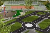 V Hustopečích se mohou těšit na dopravní hřiště s výukovou budovou, víceúčelové sportoviště, lanové pyramidy i inline dráhu.