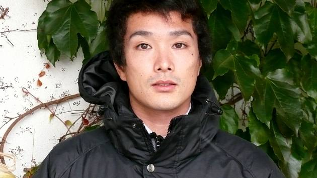 Kenji Hotta, fotbalová posila Klentnice z Japonska.