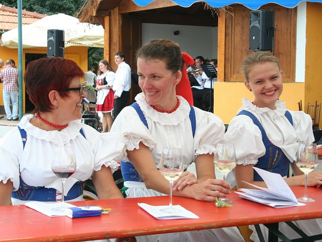 Letní slavnosti vína v Dolních Dunajovicích.