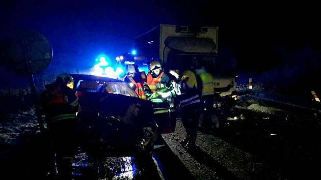 Nehoda u Moravského Žižkova