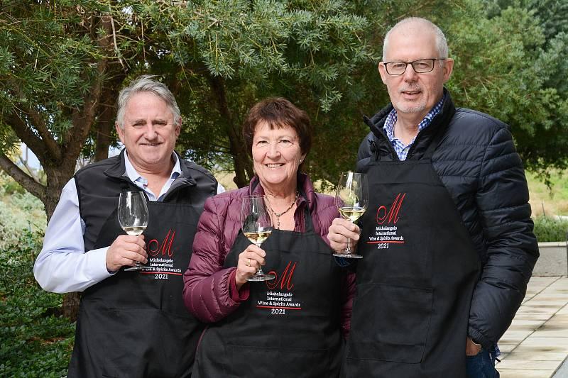Titul šampiona získalo na Michelangelo International Wine & Spirits Awards v Jižní Africe Vinařství Šabata i Vinařství Skoupil. Foto: se souhlasem organizátorů soutěže Michelangelo Awards