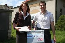 Volby 2010 v Kašnici a Krumvíři.