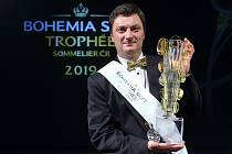 Vyhlašování výsledků Bohemia Sekt Trophée - Sommelier roku 2019