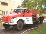 Sbor dobrovolných hasičů z Týnce.