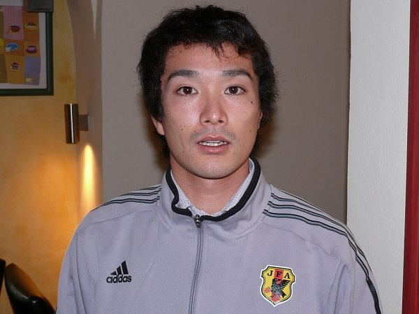 Kenji Hotta, fotbalová posila Klentnice zJaponska.