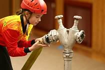 Na sto padesát mladých hasičů soutěžilo v Moravské Nové Vsi ve štafetách a uzlování.