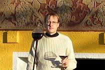 Vinař Milan Bauman.