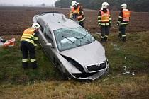 Dvě dopravní nehody v neděli komplikovaly provoz na dálnici. Třetí se stala u Dolních Dunajovic.