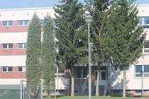Areál věznice v břeclavské části Poštorná.